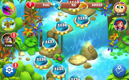 Gemmy Lands: New Jewels and Gems Match 3 Games modavailable screenshots 14