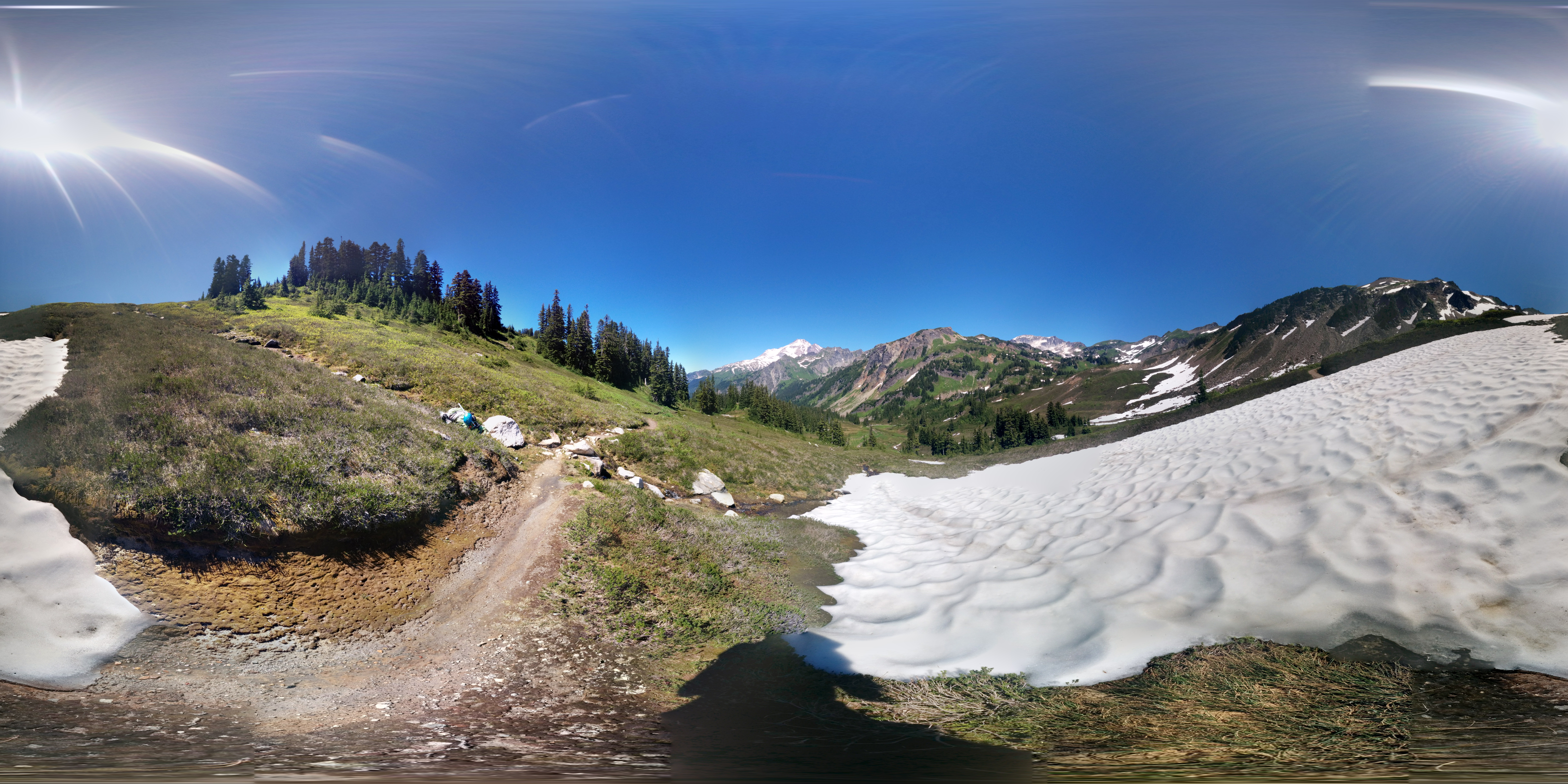 Photo: Was this a perfect lunch spot or what? #photosphere #mountains