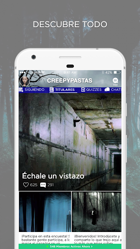 Creepypasta Amino en Espau00f1ol 2.2.27032 screenshots 2