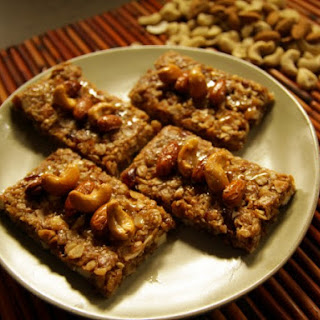 Coconut Almond Date Granola Bars.