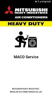 MACO Service - náhled