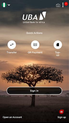 UBA Mobile Banking screenshot 1