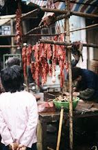 Photo: 04515 広州市/清平自由市場/肉