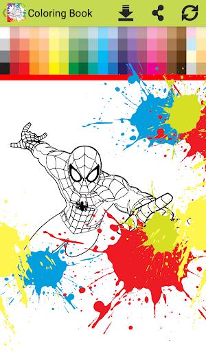 Superhero Infinity Coloring book for kids 1.0 screenshots 5