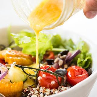 Roasted Summer Vegetable Quinoa Bowl Recipe