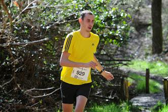 Photo: Course hors stade  22/03/2014  Trail des Trois Chapelles Bains-sur-Oust  15 km  Maxime Greneu  Rennes Triathlon