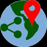 Share Locations: GPS coordinates 1.0.5