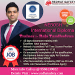 Nebosh safety course in India | Nebosh international diploma course