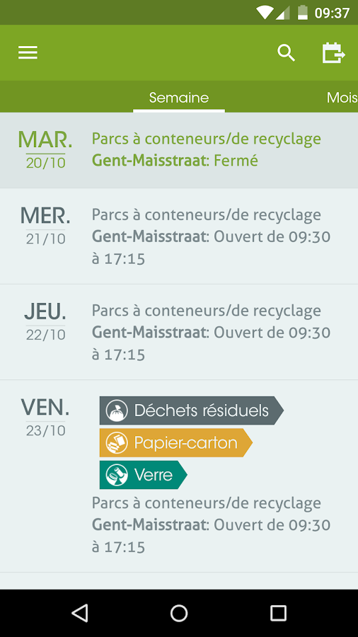 Recycle! – Capture d'écran