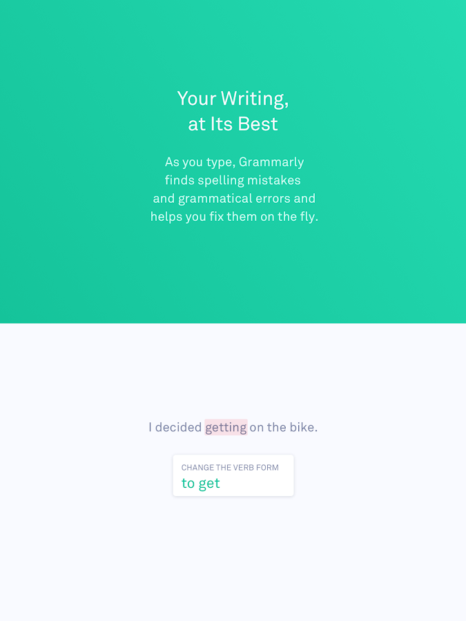 Grammarly Keyboard — Type with confidence- screenshot