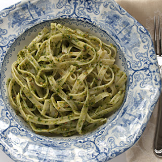 Kale Lemon Pesto with Fettuccine