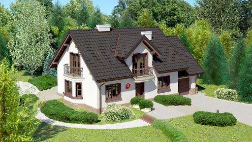 projekt Dom przy Modrzewiowej 3