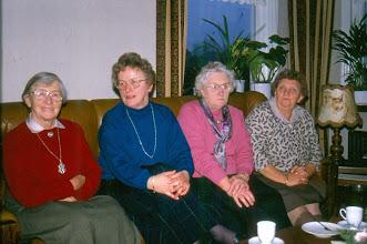 Photo: Bezoekcommissie Roelie Timmer, Alie Kluiving, Jantje Hollander en Frèkje Hofsteenge