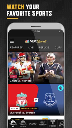 NBC Sports screenshot 1