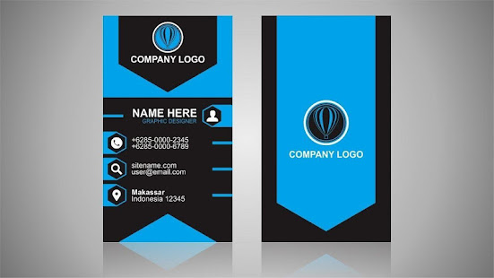 Business card design visiting card maker apps on google play screenshot image colourmoves