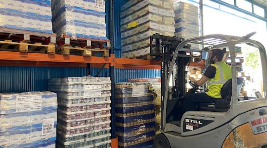 Endesa dona 25.000 kilos de alimentos para la provincia