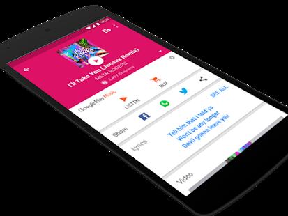 Shazam Offline - náhled