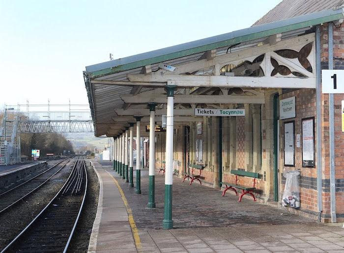 Sunday rail service on the Cambrian Railway