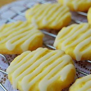 Lemon Butter Cookies.