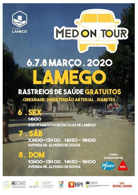 Lamego recebe ação gratuita de rastreios de saúde