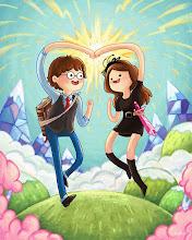 Photo: Adventure Time!!!! YES!!! Loving this one! It's by Amy Liu(http://amliu.com/ / http://notamyliu.tumblr.com)