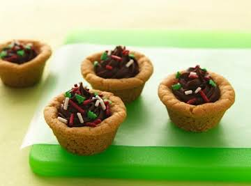 Chocolate Candy Cookie Cups
