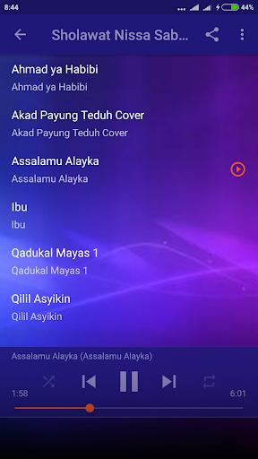 Sholawat Nissa Sabyan Lengkap Offline 1.0 screenshots 4
