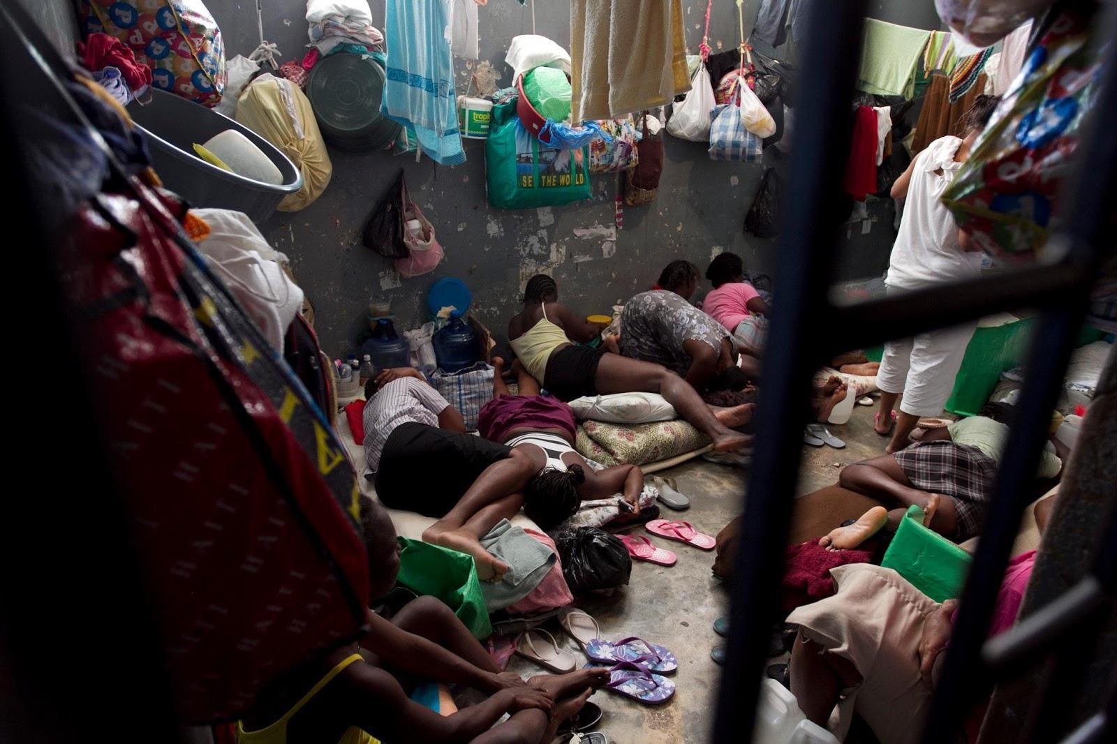 Haitis-prisons