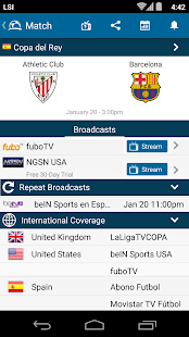Live Foot TV guide télé foot Capture d'écran