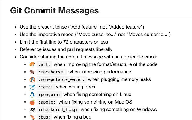 Hangouts GitHub Emojifier
