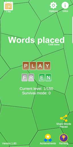 Words Placed - Word game, free, crossword android-1mod screenshots 1