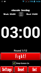Boxing Interval Timer screenshot 0