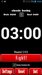 Boxing Interval Timer- screenshot thumbnail