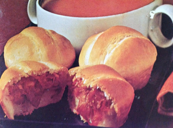 Corned Beef 'n Cheese Crescent Buns Recipe