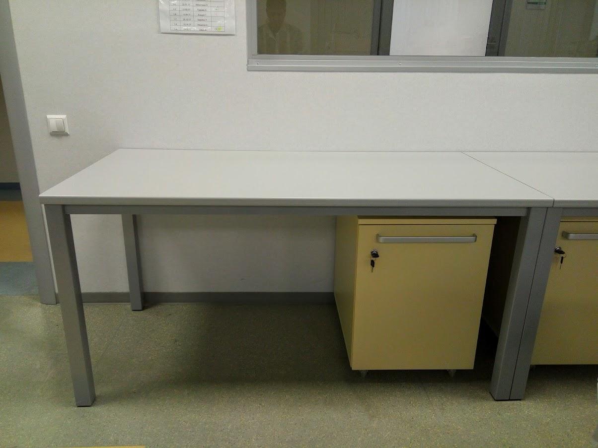 Стол лабораторный - Модульная офисная мебель, Металлические каркасы столов, Мебельные опоры ✆ 0679245444
