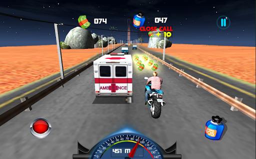 交通バイクレース