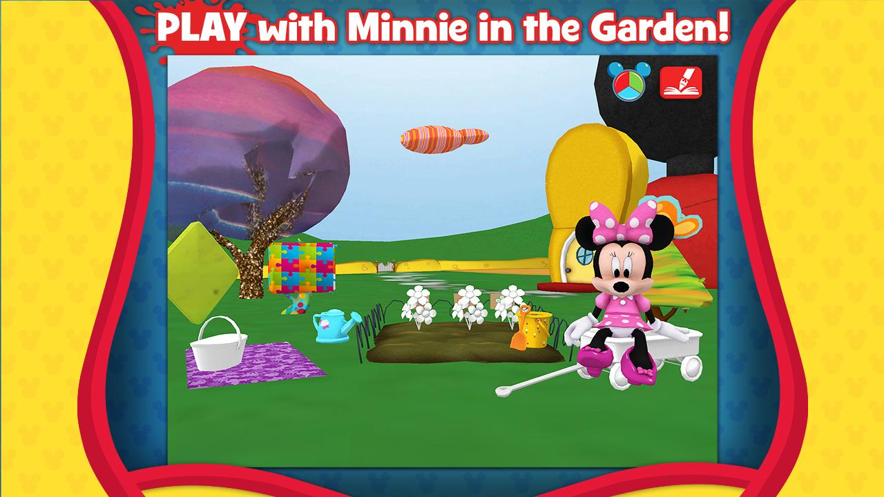 Mickeys Color And Play Screenshot