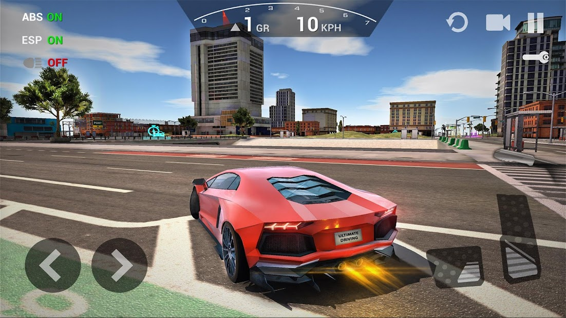 Ultimate Car Driving Simulator Android App Screenshot