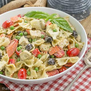 Pesto Pasta Salad #ProgressiveEats Recipe