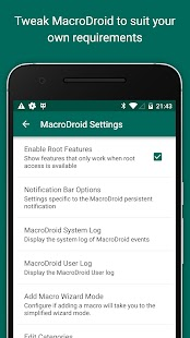 MacroDroid - Device Automation- screenshot thumbnail