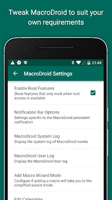 MacroDroid - Device Automation 3.13.20 - Screenshot 8