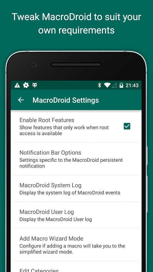 MacroDroid - Device Automation- screenshot