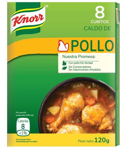 Cubito Knorr Pollo 8Und