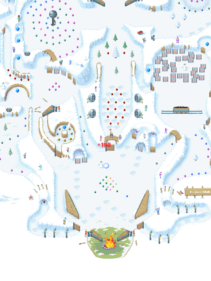 Snowball- screenshot