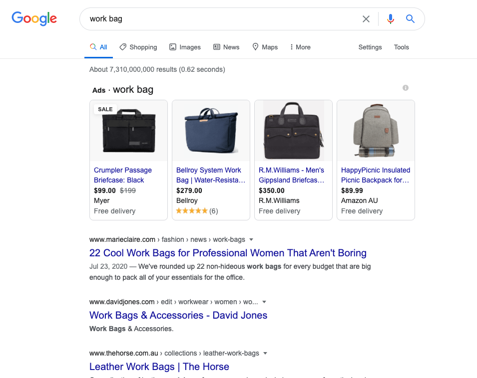 shopping ads google campaign