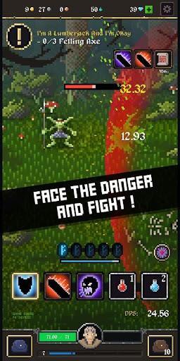 Battleslain: Goblins idle RPG adventure  captures d'u00e9cran 1