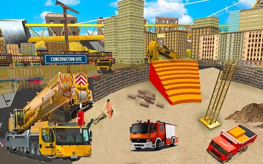 Heavy Crane Simulator Game 2019 u2013 CONSTRUCTIONu00a0SIM 1.2.5 screenshots 11