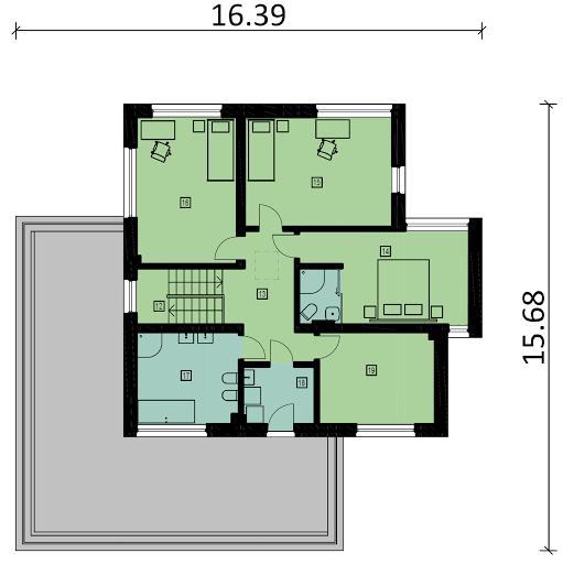 Ka4 - Rzut piętra