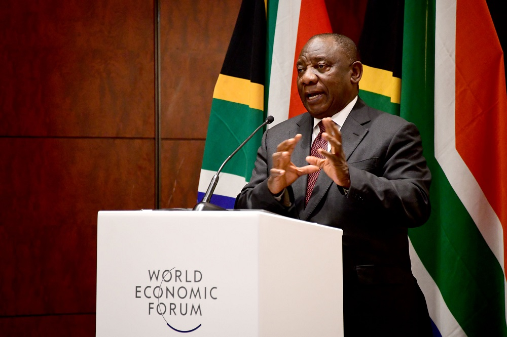 Global competition over vaccines may prolong crisis, Cyril Ramaphosa tells WEF - Business Day