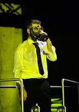 Photo: BURGTHEATER/ Kasino: DOSENFLEISCH von Ferdinand Schmalz. Premiere 18.9.2015. Inszenierung: Carina Riedl. Daniel Jesch. Copyright: Barbara Zeininger